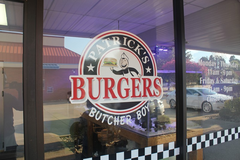 Patrick's Burgers of Fort Smith