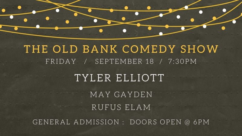 The Old Bank Comedy Show
